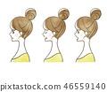 女性 - 面部表情(個人資料) 46559140