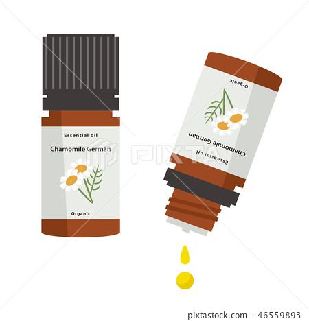 Aroma bottle (essential oil) chamomile 46559893