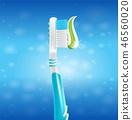 illustration realistic tooth 46560020