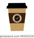 커피 종이컵의 일러스트 46562026