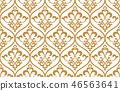 pattern floral vector 46563641