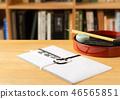 書架的精神筆觸 46565851