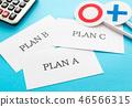 계획 제안 A 안 선택 기획 세 택 ○ × 제안서 PLAN A 46566315