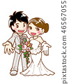 Bride and groom 46567055