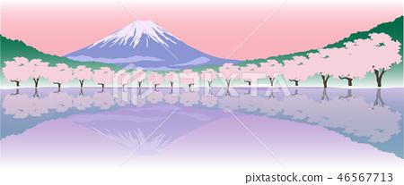 富士山 46567713