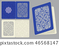 classic, vintage, invitation 46568147