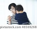 육아 아이 열 46569268