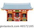 아사쿠사 카미나리몬 이미지 46572165