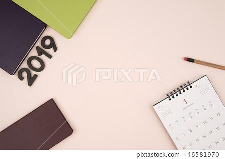 2019年新年日記,日曆對象 46581970
