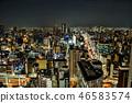 도시, 빌딩 단지, 건물 단지 46583574