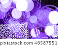 ไฟสีขาวซัปโปโร - ภาพตัด - 46587551
