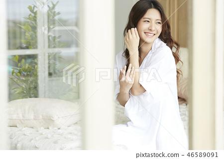 女性美容圖像身體護理 46589091