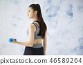 女式运动服 46589264