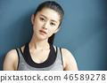 女式运动服 46589278