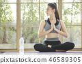 女子运动服瑜伽 46589305
