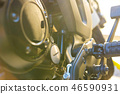 Close-up photo of motorcycle bike 46590931