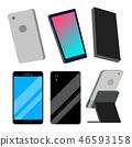 vector, smartphone, cellphone 46593158
