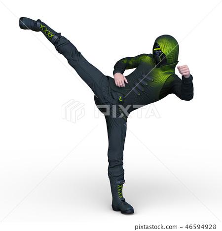 一個舞者 46594928