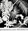 seamless flower exotic 46599679