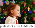 kid, christmas, child 46600063