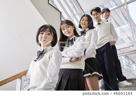 女性,男性,初中生,高中生,韓國人 46601164