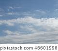Blue sky and white cloud of inage coast 46601996