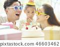 家庭生活方式生日 46603462