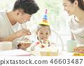 家庭生活方式生日 46603487
