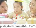 家庭生活方式生日 46603525