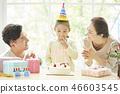 家庭生活方式生日 46603545