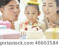 家庭生活方式生日 46603584