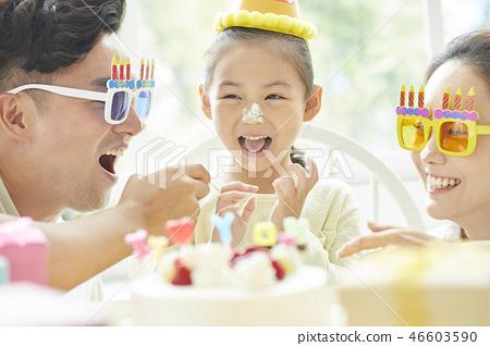 家庭生活方式生日 46603590