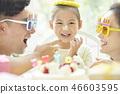 家庭生活方式生日 46603595