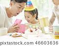 家庭生活方式生日 46603636