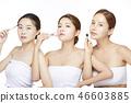 女人美容圖像化妝 46603885