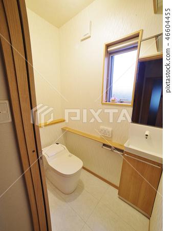 Japanese residential toilet 46604455