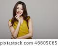 女性肖像系列顏色回 46605065