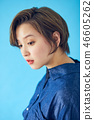 바로 가기의 여성 초상화 컬러 백 46605262