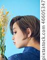 단축키 여성 꽃이있는 생활 컬러 백 46605347