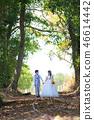 คู่,งานแต่งงาน,เดรส 46614442