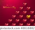 heart, vector, background 46616882