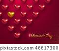 heart, valentines, valentine 46617300