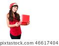 gift box santa 46617404
