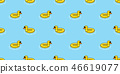 duck seamless pattern vector swimming ring pool  46619077
