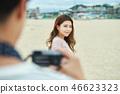 연인, 데이트, 커플, 여행, 여자, 남자, 카메라 46623323