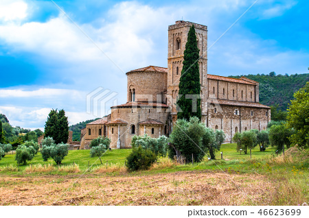 The Abbey of Sant'Antimo in Italy 46623699