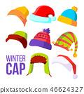 cap winter vector 46624327
