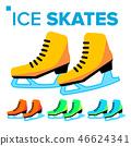 ice skate icon 46624341