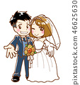 Bride and groom 46625630