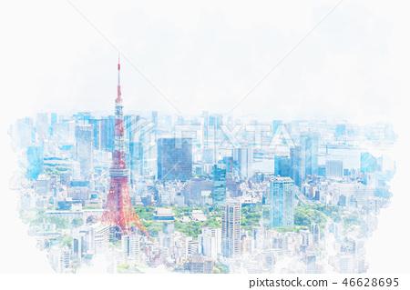 初夏的東京 46628695